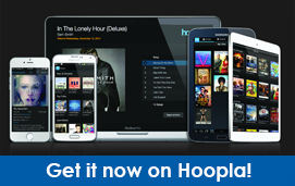 Hoopla: get ebooks, audiobooks, tv episodes, movies, music, and comics